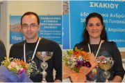 Μαστροβασίλης και Παυλίδου στέφθηκαν Πρωταθλητές Ελλάδας